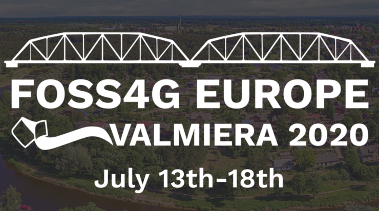 FOSS4G Europe 2020 (CANCELED) - postponed for 2021 in Valmiera