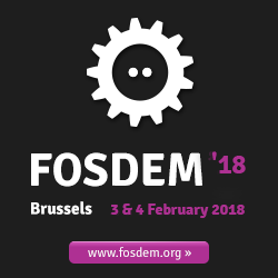 FOSDEM 2018