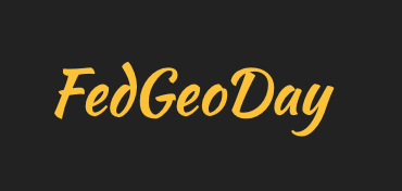 FedGeoDay 2020 Online Event