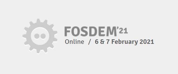 Geospatial Devroom at FOSDEM 2021 (Online)