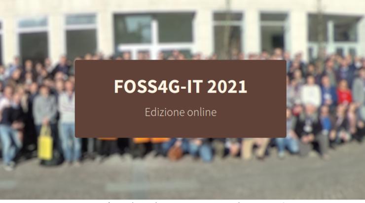 FOSS4G-IT 2021 (Online)