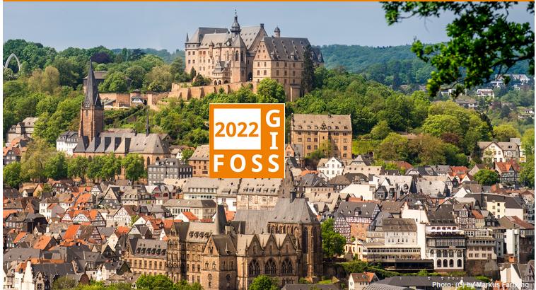 FOSSGIS 2022 Marburg (Germany) and HYBRID