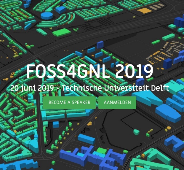 FOSS4G NL 2019 at Delft University
